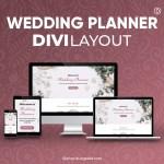 Divi Wedding Planner Layout