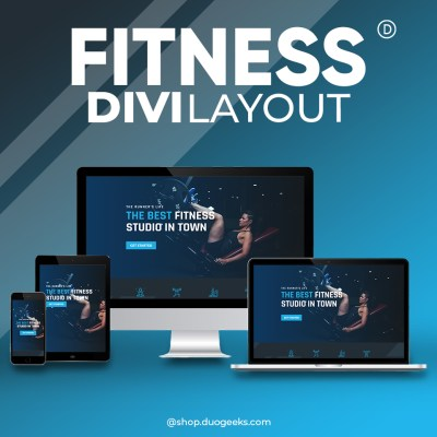 Divi Fitness Layout