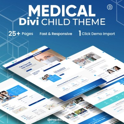 Divi Curex Child Theme Elegant