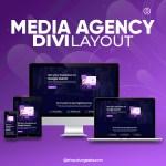 Divi Media Agency Layout