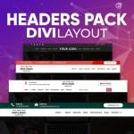 Divi Headers Pack