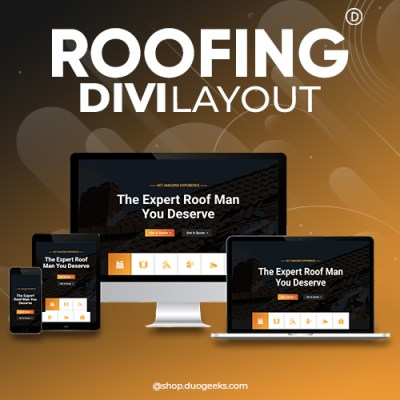 Divi Roofing Layout