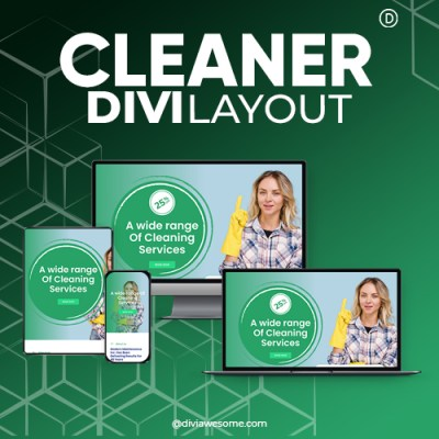 Divi Cleaner Layout