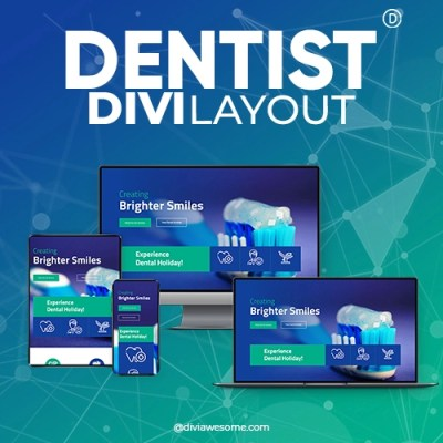 Divi Dentist Layout