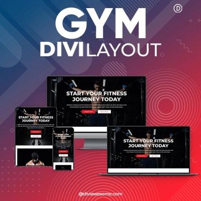 Divi Gym Layout
