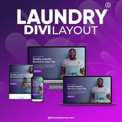 Divi Laundry Layout