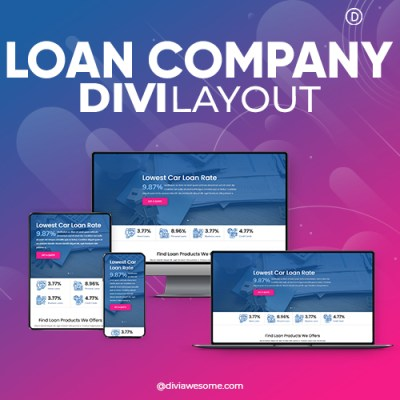 Divi Loan Company Layout