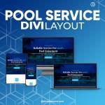 Divi Pool Service Layout