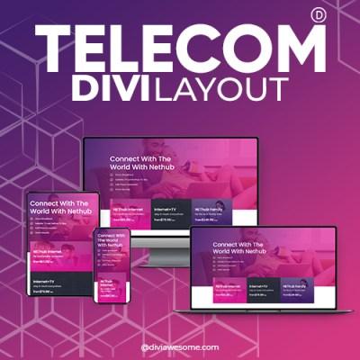 Divi Telecom Layout