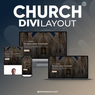 Divi Church Layout