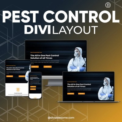 Divi Pest Control Layout