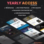 Divi Awesome Yearly Access Pass