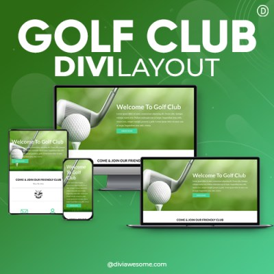 Divi Golf Club Layout