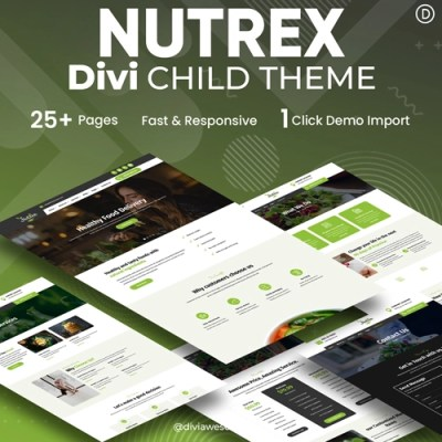 Nutrex Divi Child Theme