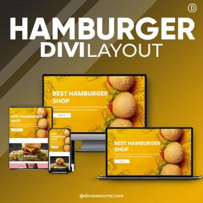 Divi Hamburger Layout 2
