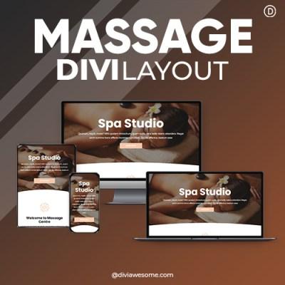 Divi Massage Layout 3
