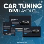 Divi Car Tuning Layout