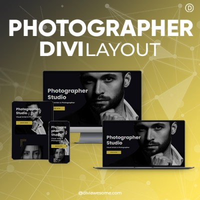 Divi Photographer Layout