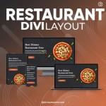 Divi Restaurant Layout 4