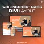 Divi Web Development Agency Layout
