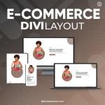 Divi E-commerce Layout