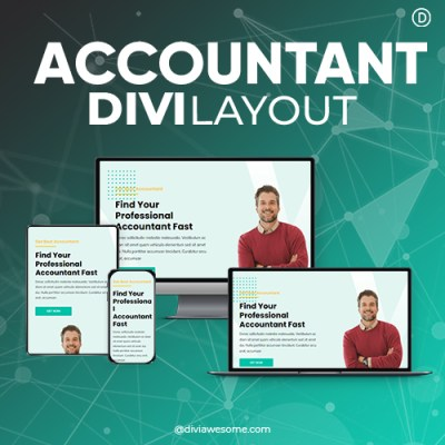 Divi Accountant Layout