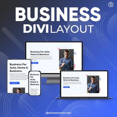 Divi Business Layout