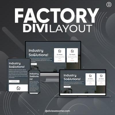 Divi Factory Layout