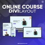 Divi Online Course Layout