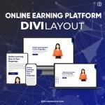 Divi Online Learning Platform Layout 2