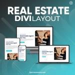 Divi Real Estate Agent Layout