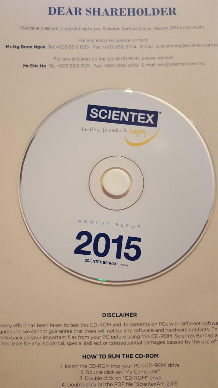 Scientex Berhad Annual Report