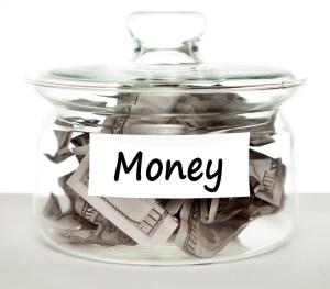 dividend portfolio money jar