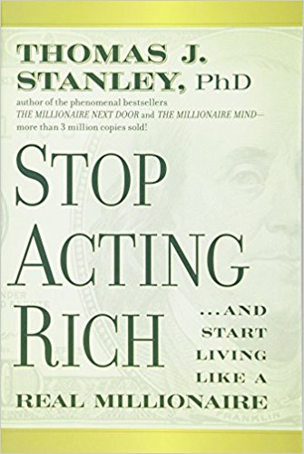 Stop Acting Rich Book