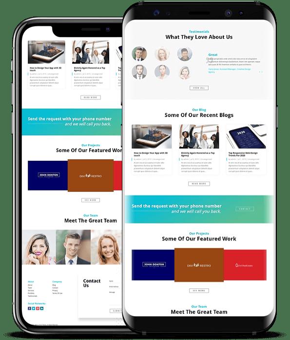 Divi Agency child theme for agency websites