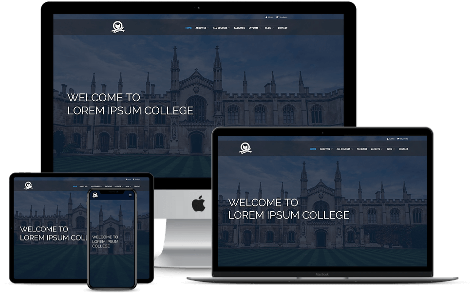 Divi college child theme