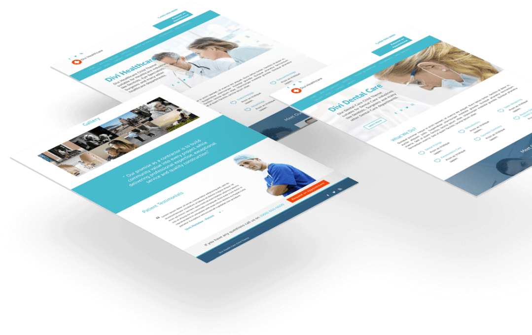 divi health child theme