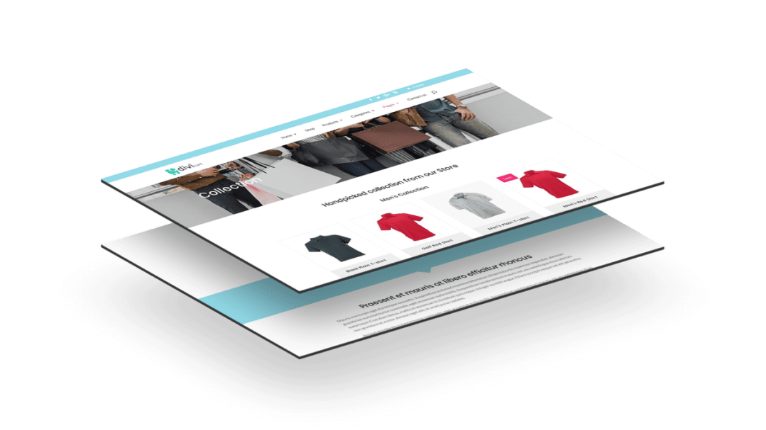 The WooCommerce child theme for Divi