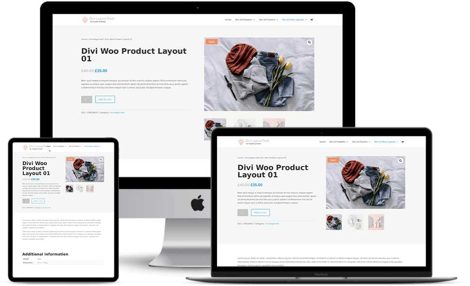 WooCommerce Layouts for Divi 4