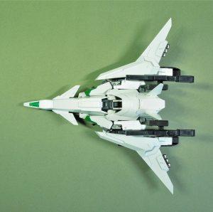 試作量産型可変機エクシードジャイヴ 飛行形態上面