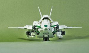 試作量産型可変機エクシードジャイヴ 飛行形態正面