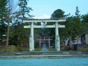 岩木山神社 参道