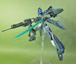 改良型空戦可変機 リーンデルタ レーザーカッター