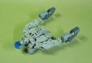 改良型空戦可変機リーンデルタ 飛行形態フレーム