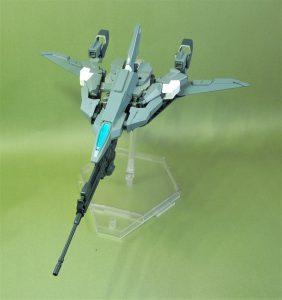 改良型空戦可変機リーンデルタ 無尾翼機