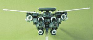 電子戦用可変支援機ブロード キャヴァルリーモード リア