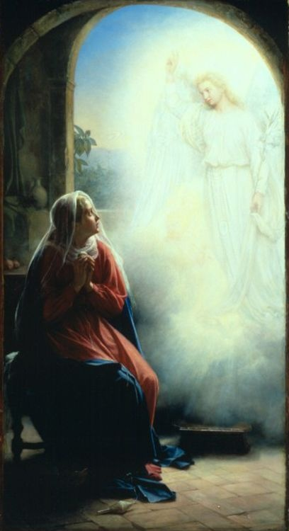The Annunciation by Carl Heinrich Bloch