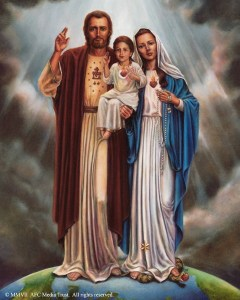Holy Family gallery wrap website