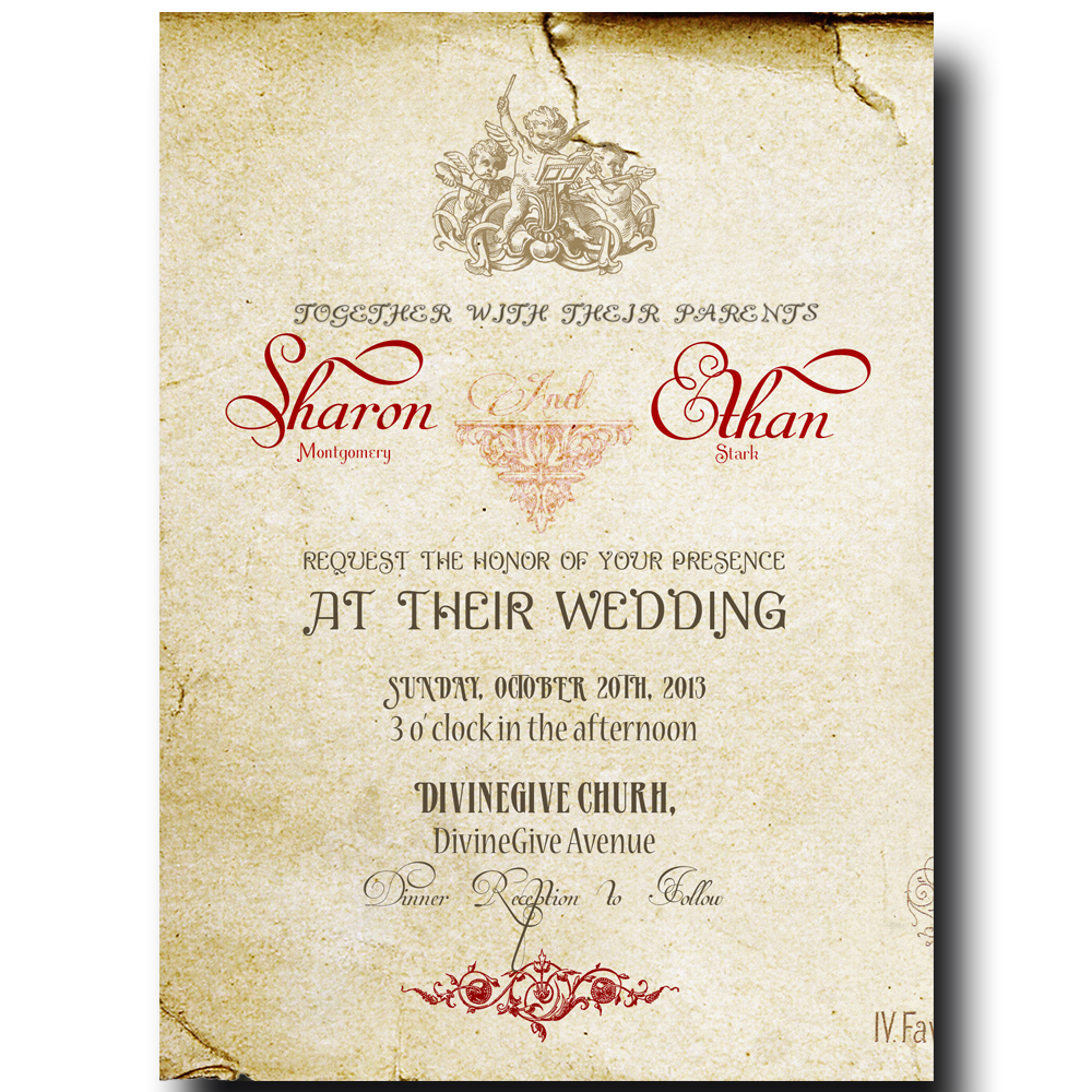 Wedding Invitations  Wedding Invitations Bridal Invitations