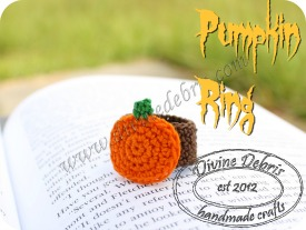 Pumpkin Ring Pattern by Divine Debris
